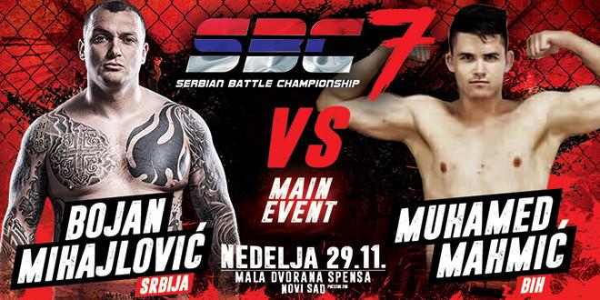 Bojan Mihajlović vs Muhamed Mahmić  MAIN EVENT SBC 7
