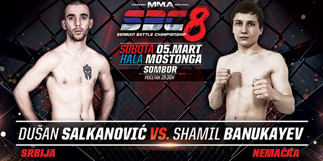 Dušan Salkanović vs Shamil Banukaev