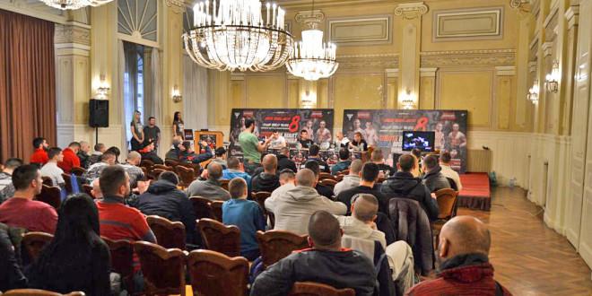 Zvanična konferencija za štampu i merenje boraca za SBC 8