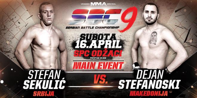Stefan Sekulić vs Dejan Stefanoski, SBC 9, MAIN EVENT