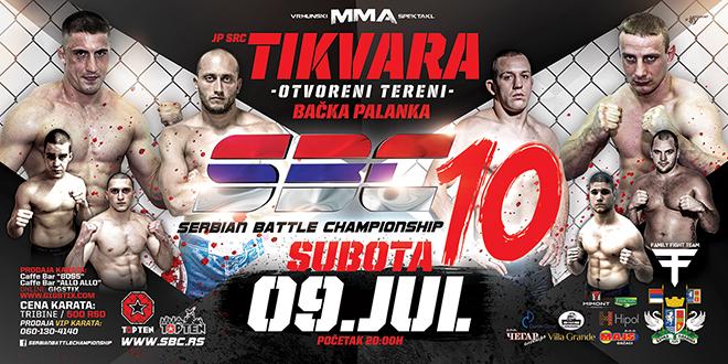 SBC 10 – SERBIAN BATTLE CHAMPIONSHIP 10, 09.07.2016. BAČKA PALANKA