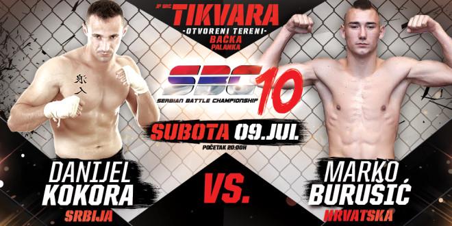 Danijel Kokora vs Marko Burušić
