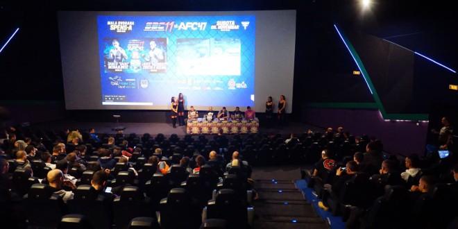Zvanična konferencija za štampu i merenje boraca za SBC 11 vs AFC 47