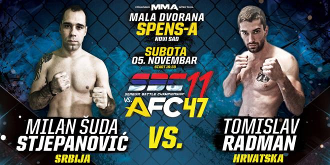 Milan Šuda Stjepanović vs Tomislav Radman