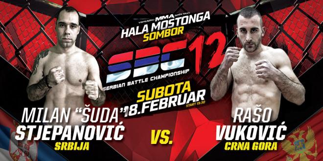 Milan Stjepanović Šuda vs Rašo Vuković