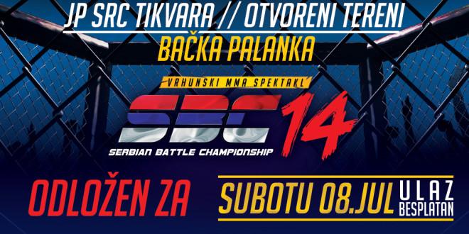Serbian Battle Championship 14 odložen za subotu, 8. jul!