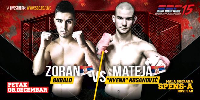 "SBC 15 – Zoran Bubalo vs Mateja ""Hyena"" Kosanović"
