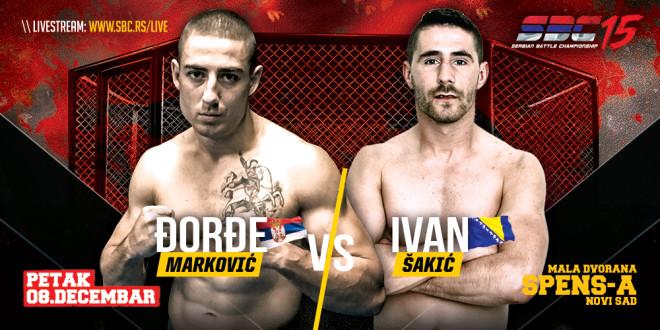 SBC 15 – Đorđe Marković vs Ivan Šakić