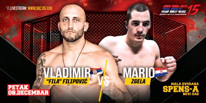 SBC 15 – Vladimir Fila Filipović vs Mario Zgela