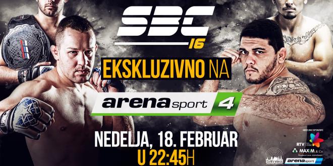 Ekskluzivno – SBC na Arena sport 4 TV!