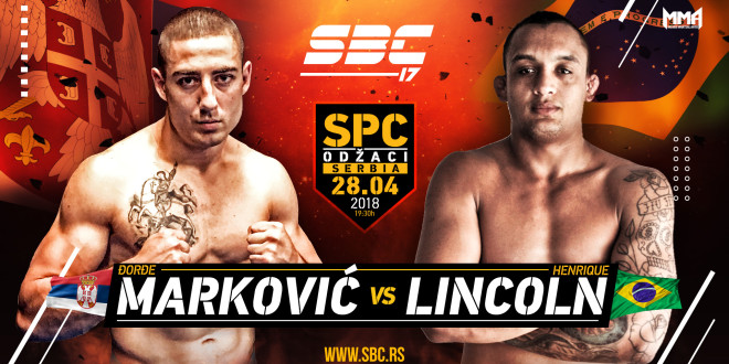 Novi protivnik za Lincolna Henrique-a na SBC 17 – Đorđe Marković!