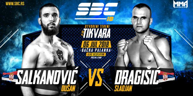 SBC 18 / Dušan Salkanović vs Sladjan Dragišić