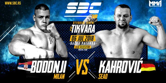 SBC 18 / Milan Bodonji vs Sead Kahrović