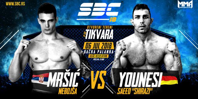 "SBC 18 / Nebojša Mršić vs Saeed ""Shirazi"" Younesi"