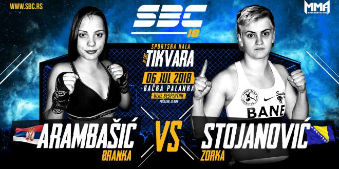 SBC 18 – Branka Arambašić vs Zorka Stojanović