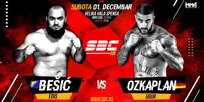Novi protivnik za Ugura Ozkaplana na SBC 19 – Edis Bešić