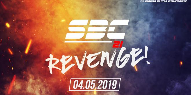 Serbian Battle Championship 21, 04.05.2019.