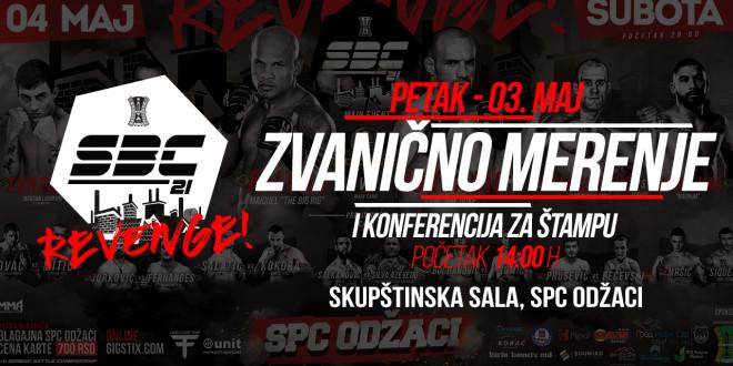 SBC 21- REVENGE! – Zvanično merenje, Skupštinska sala SPC, Odžaci
