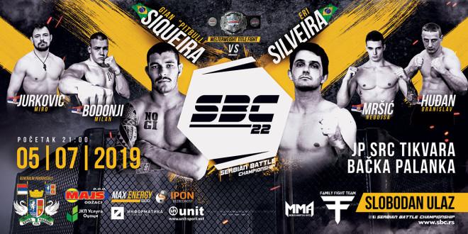 Serbian Battle Championship 22, 05.07.2019.