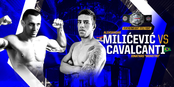 "SBC 23 – Revenge! Featherweight Title Bout Aleksandar Milićević vs Jonathas ""Monstro"" Cavalcanti"