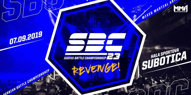 Serbian Battle Championship 23, REVENGE! 07.09.2019.