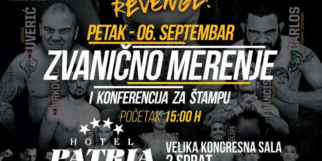 SBC 23 Revenge! Zvanično merenje i konferencija za štampu