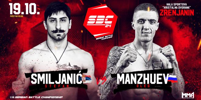 SBC 24 / Stefan Smiljanić vs Oleg Manzhuev