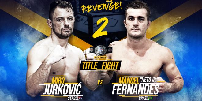 SBC Middleweight Championship Bout  Miro Jurković vs Manoel Fernandes Neto Jr. 2