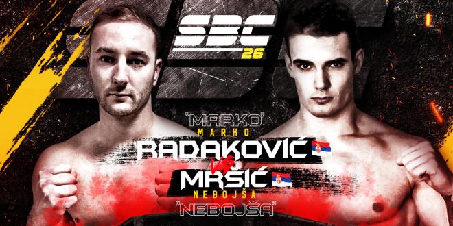 SBC 26 Marko Radaković vs Nebojša Mršić