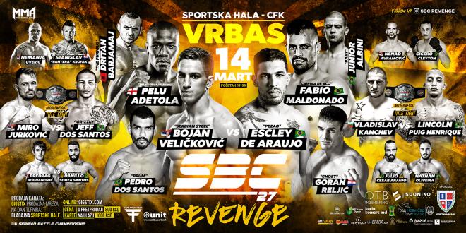 SBC 27 Revenge, 14.MART, Vrbas