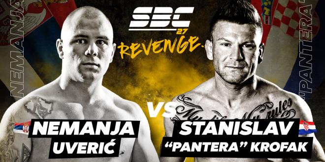 "SBC 27 Revenge, Nemanja Uverić vs Stanislav ""Pantera"" Krofak"