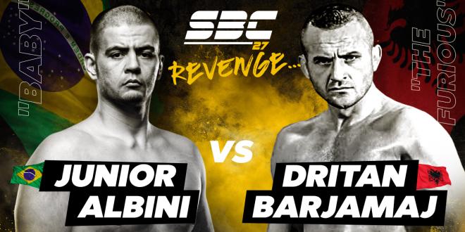 """SBC 27 Revenge, Junior """"Baby"""" Albini vs Dritan """"The Furious"""" Barjamaj"""