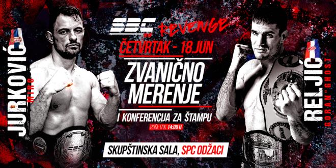 SBC 28 Revenge, Zvanično merenje i konferencija za štampu