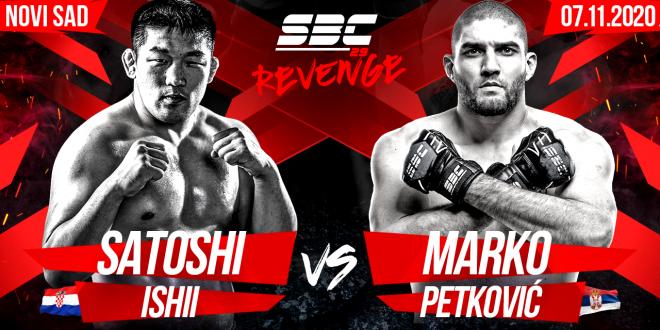 SBC 29 Revenge Satoshi Ishii vs Marko Petković