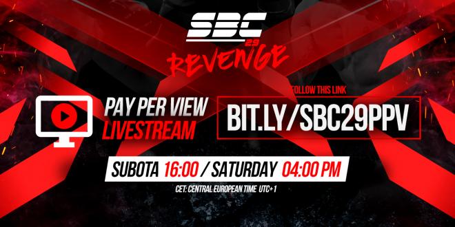 SBC 29 Revenge / PPV Livestream