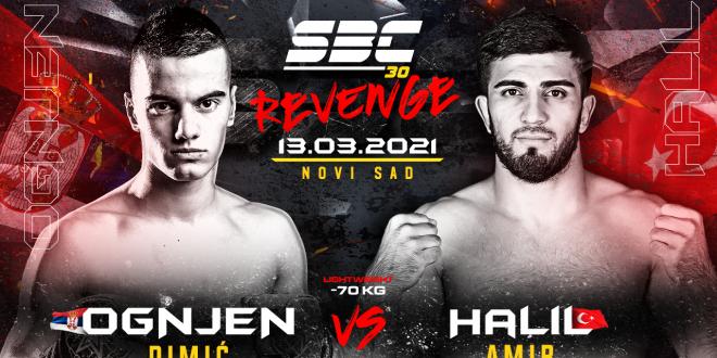 SBC 30 Revenge, Ognjen Dimić vs Halil Amir