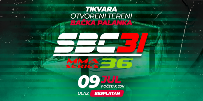 SBC 31 & MMA Series 36, 09.Jul Bačka Palanka