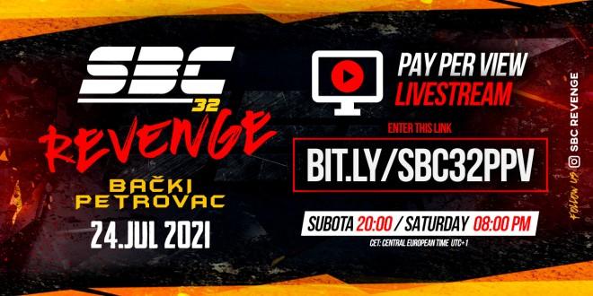 SBC 32 Revenge on PPV