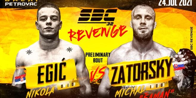 SBC 32 Revenge, Nikola Egić vs Michal Zatorsky