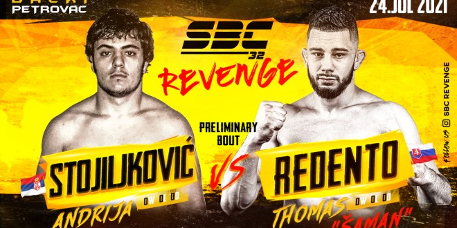SBC 32 Revenge, Andrija Stojiljković vs Thomas Redento