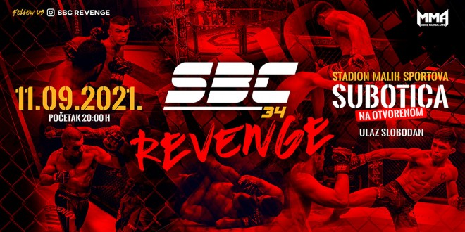 SBC 34 Revenge, 11.09.2021. Subotica