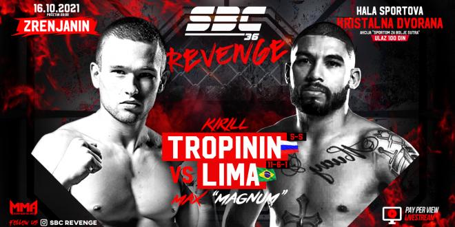 "SBC 36 Revenge, Kirill Tropinin vs Max ""Magnum"" Lima"