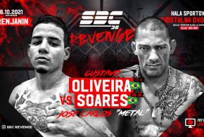 "SBC 36 Revenge, Gustavo Oliveira vs Jose Carlos ""Metal"" Soares"